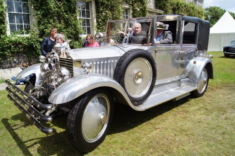1925 20hp Huntington rolek royce fotografia royalty free
