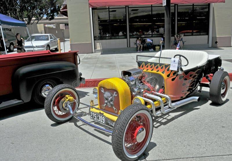 1925 de Open tweepersoonsauto van de ?Emmer T? van de Doorwaadbare plaats royalty-vrije stock foto