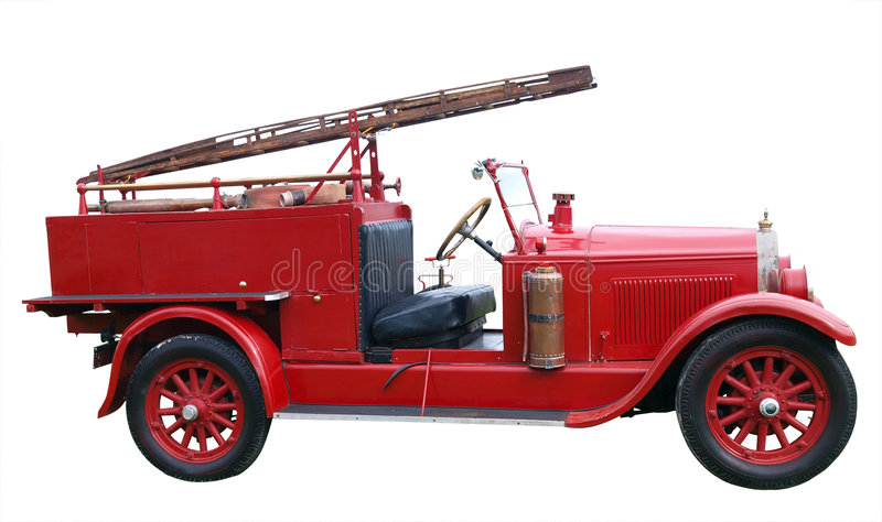 1926 Vintage Buick Fire Engine Stock Photo