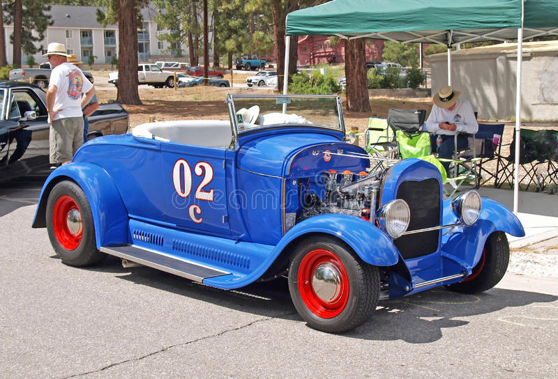 1929 modelleert Ford A stock foto's