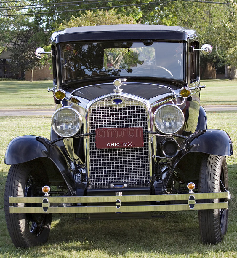 Download 1930 Ford Model A stock image. Image of automobile, classic - 1223517