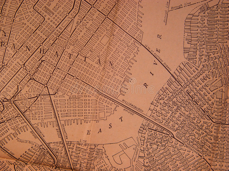 Download 1930 NY Area Map stock photo. Image of manhattan, blocks - 29846