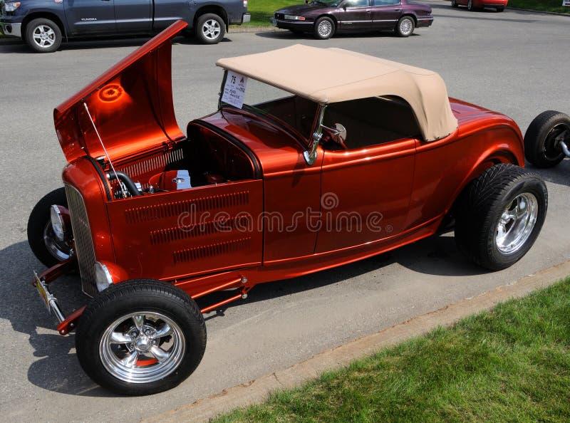 1932 Ford Roadster. Alaska Midnight Sun Cruise-In Auto Show June 19, 2010 in Fairbanks, Alaska stock photos