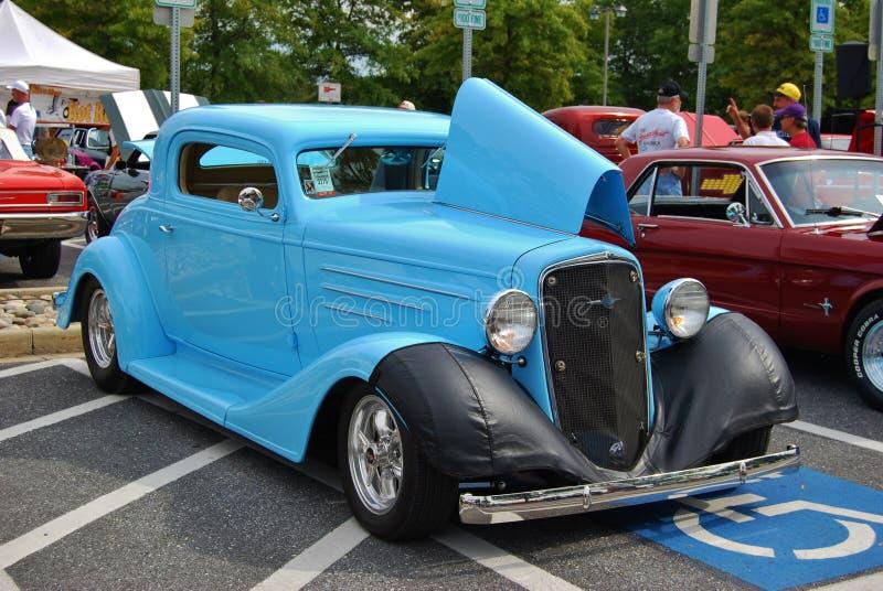 1936 Blauwe Klassieke Chevrolet royalty-vrije stock afbeeldingen