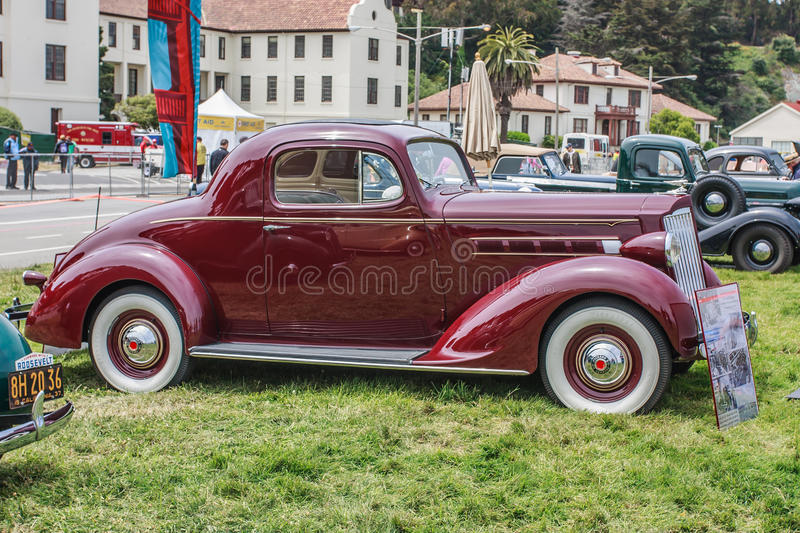 Download 1937 Packard 110 Coupe editorial stock photo. Image of festival - 27868853
