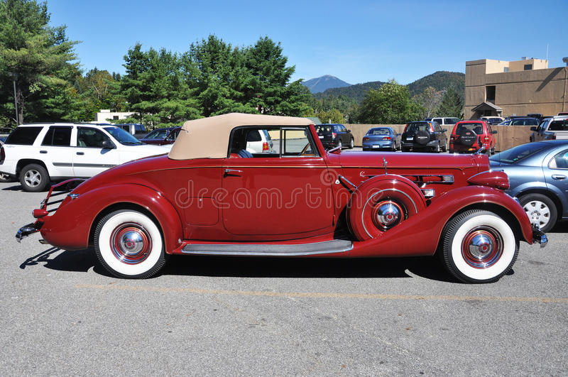 Download 1937 Packard 12 Convertible Antique Car Editorial Image - Image of automobile, festival: 16832995