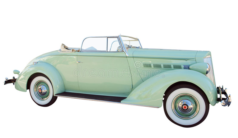 1937 Packard stock images