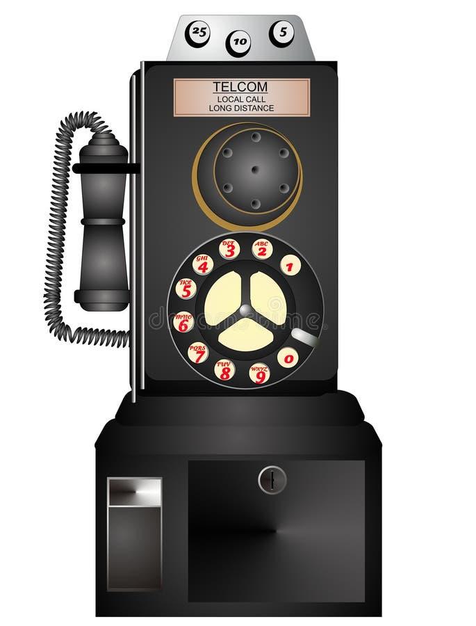 1940 Antique payphone