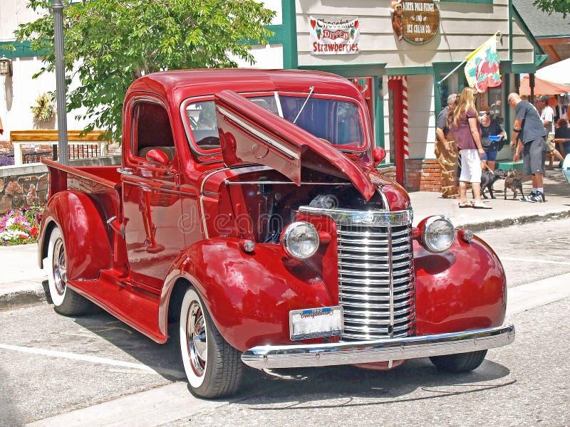 1940 de Vrachtwagen van Chevrolet stock afbeeldingen