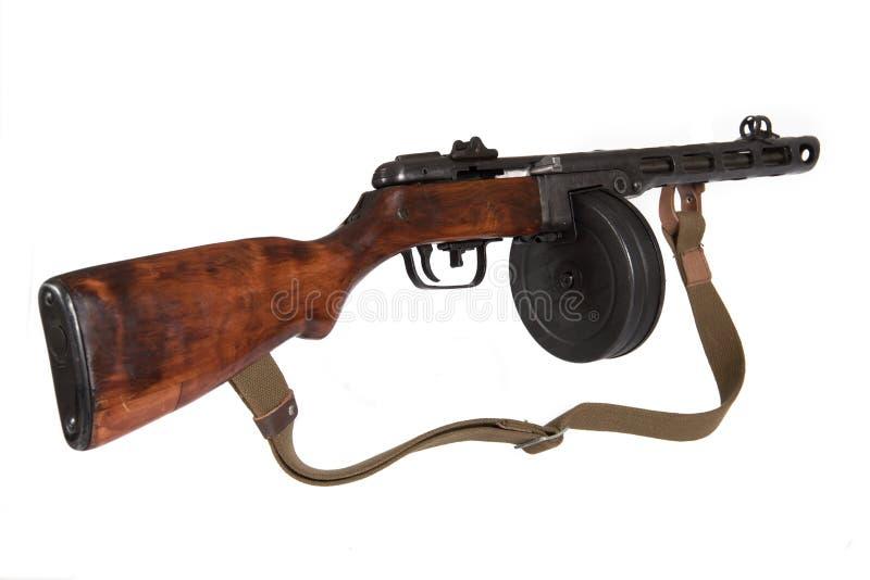 1941杆枪范例shpagina submachine 库存图片