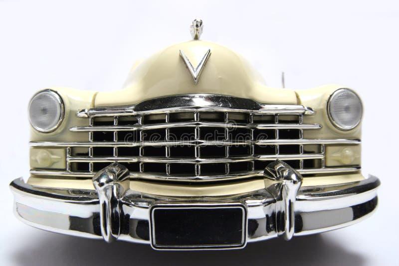 1947年卡迪拉克汽车fisheye frontview金属缩放比例Ĩ 库存图片