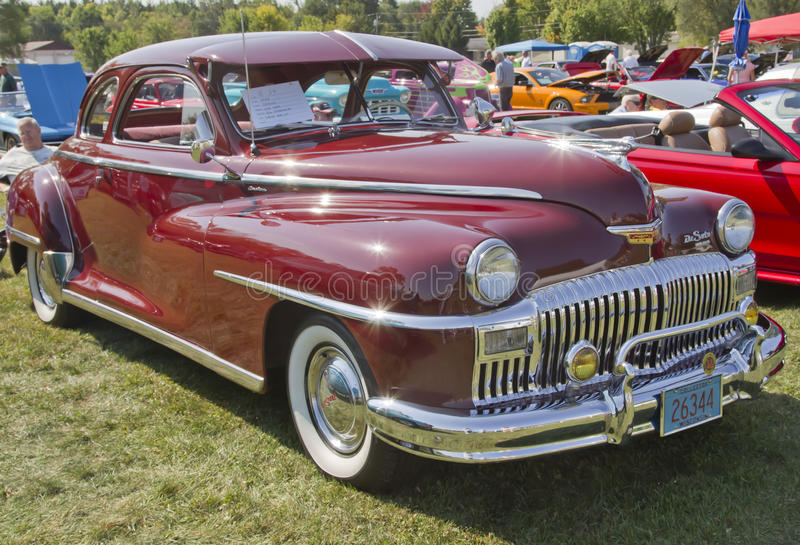Download 1948 DeSoto Car Side View editorial image. Image of engine - 28776935