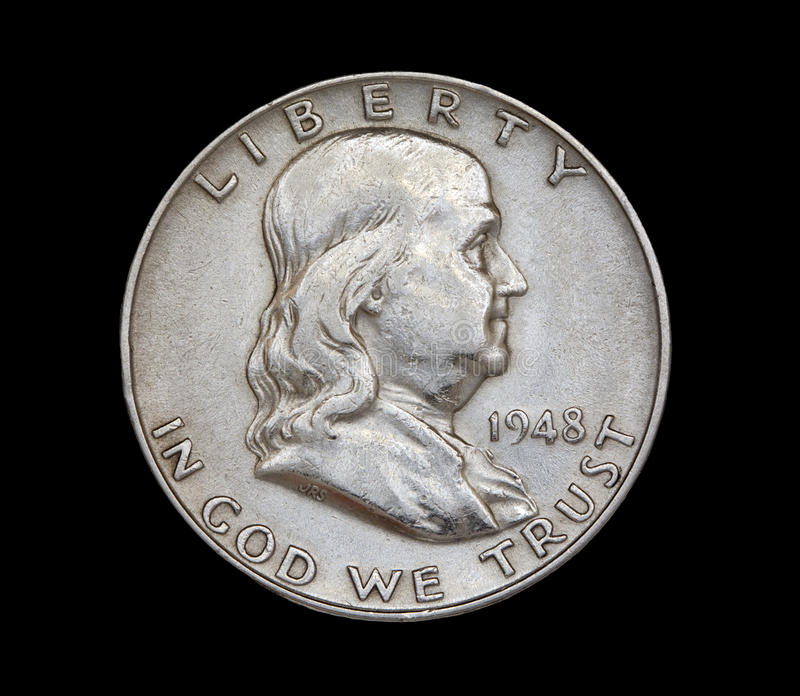 1948 Franklin zdjęcie royalty free