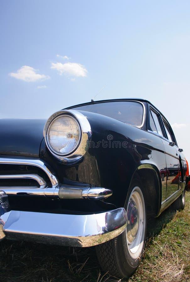 1950 czarnym samochodzie, stary obrazy royalty free