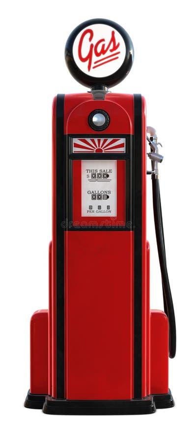 1950s gas pump διανυσματική απεικόνιση