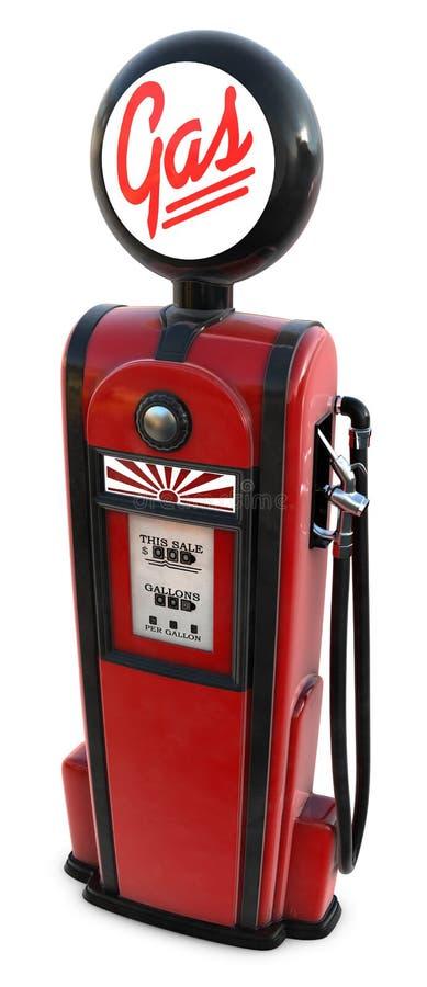 Download 1950s gas pump stock illustration. Image of petroleum - 7590395
