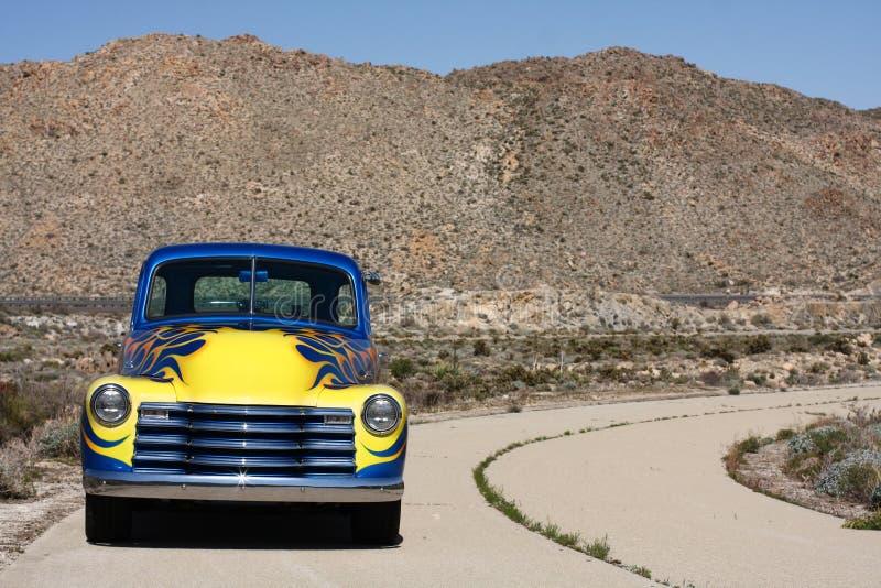 1953经典之作高速公路老卡车 免版税库存图片
