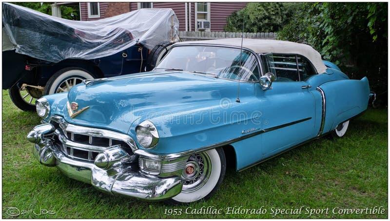 1953 Cadillac Eldorado Special Sport Convertible Free Public Domain Cc0 Image