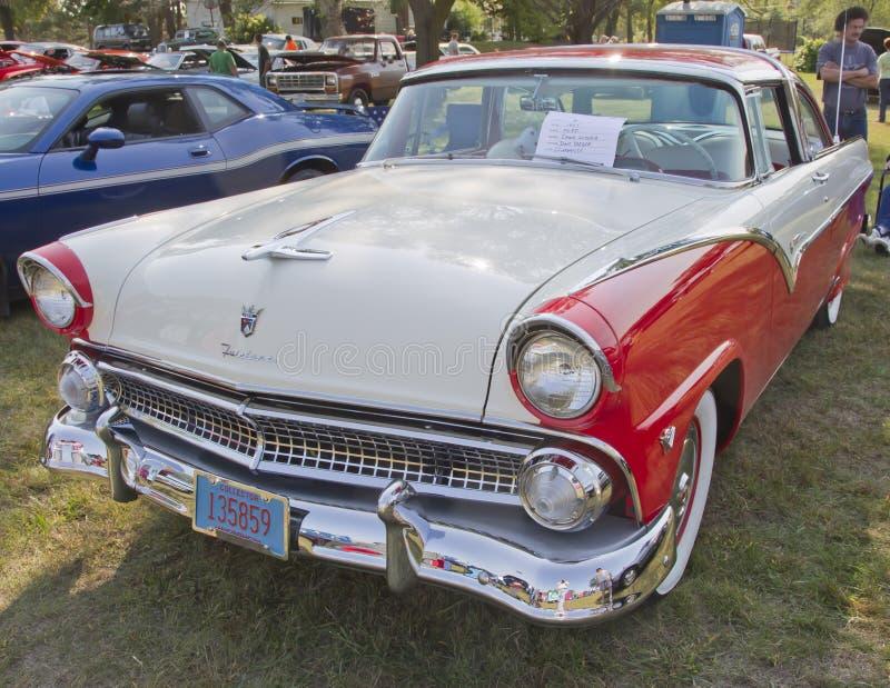 1955 κορώνα Βικτώρια της Ford στοκ φωτογραφίες