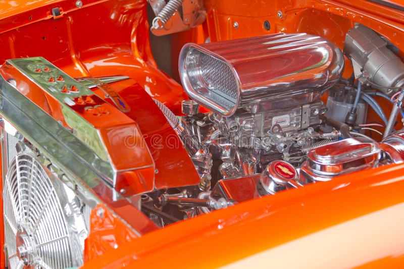 Download 1955 Chevy Delray Engine editorial stock photo. Image of chevy - 26535373