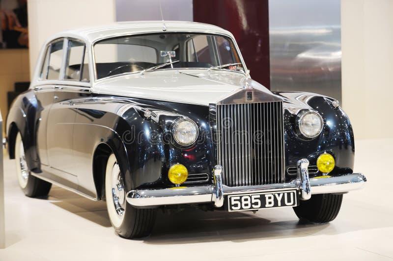 1955 de Rolls-Royce Zilveren versie van de Wolk royalty-vrije stock fotografie