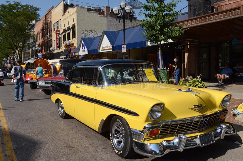 1956 Bel Air Chevrolet στοκ εικόνα