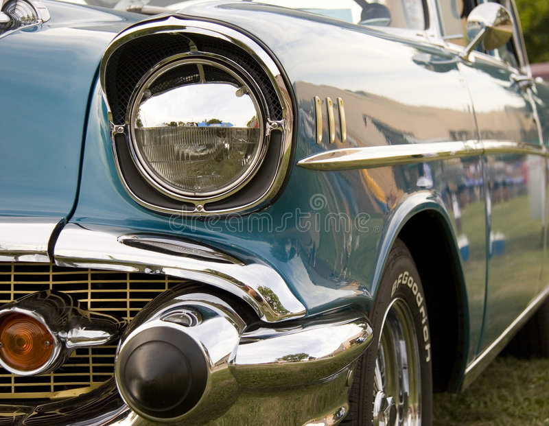 1957 chevy belair obrazy stock