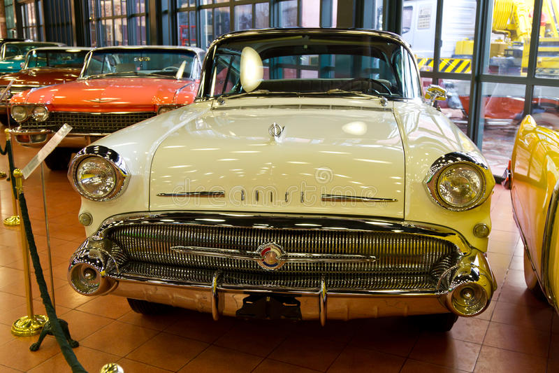1957 Speciale 4 deuren Buick royalty-vrije stock foto