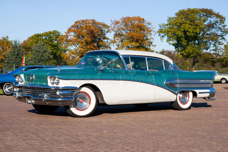 1958 buick super obrazy royalty free