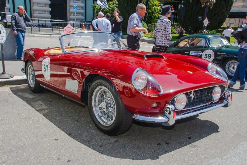 Download 1958 Ferrari 250 GT Spider editorial photo. Image of trip - 27971741