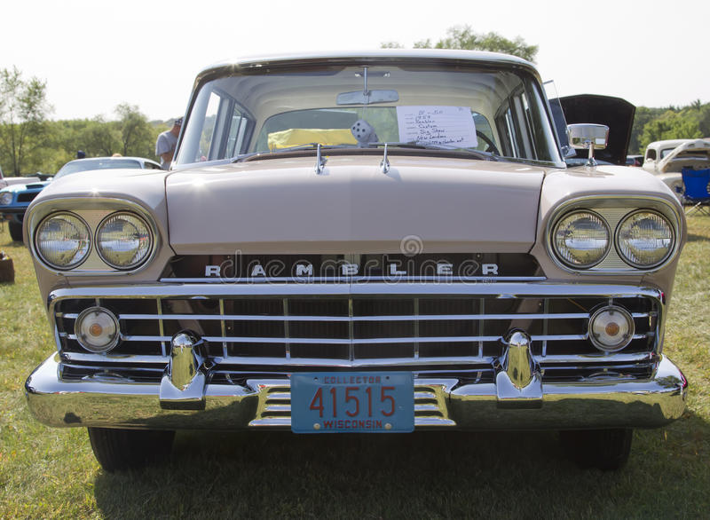 Download 1959 Pink Rambler Grill View Editorial Photography - Image: 27687052