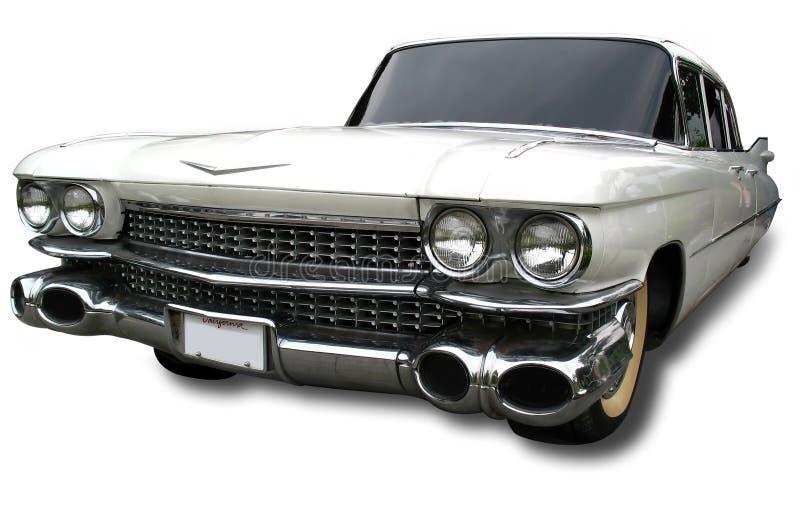 1959 Retro Auto royalty-vrije stock afbeelding
