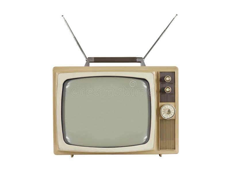 1960个天线可移植的s电视 图库摄影