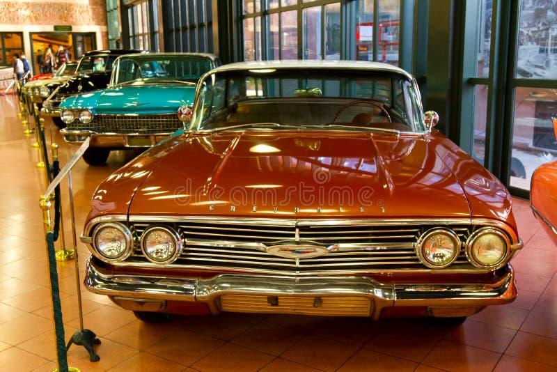 1960 Chevrolet Impala Pillarless Sedan royalty free stock photos