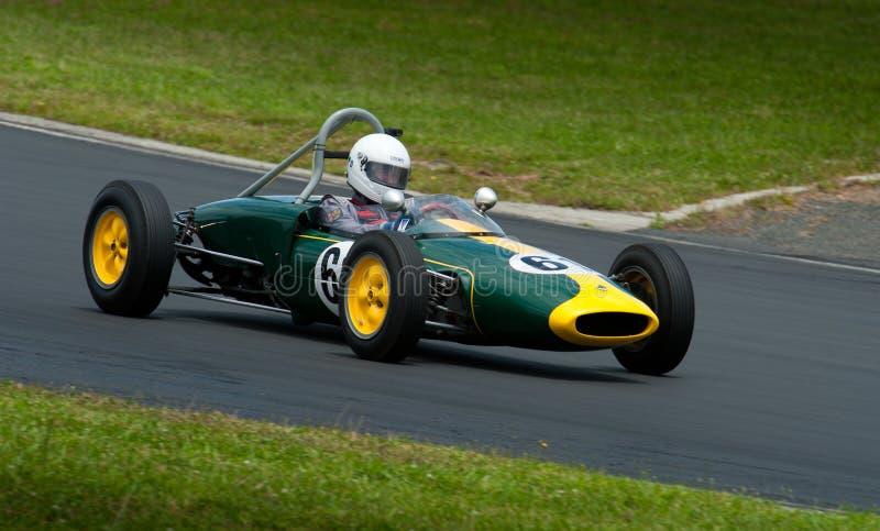 1960 Lotus 18FJ race car stock images
