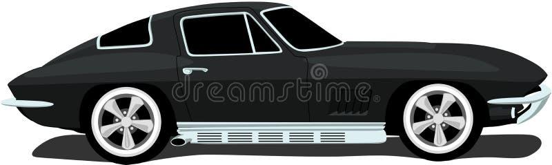 1960 S American Corvette Stock Photography