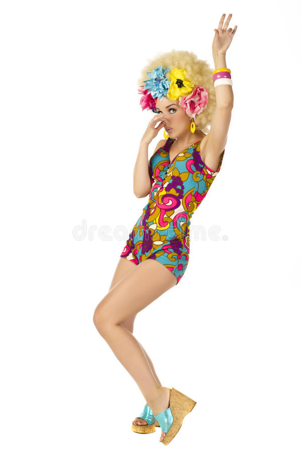 Download 1960's Flower Power stock image. Image of flower, isolated - 25237209