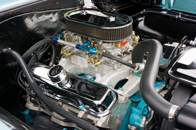 Download 1960's Pontiac GTO Engine Royalty Free Stock Photography - Image: 13014767
