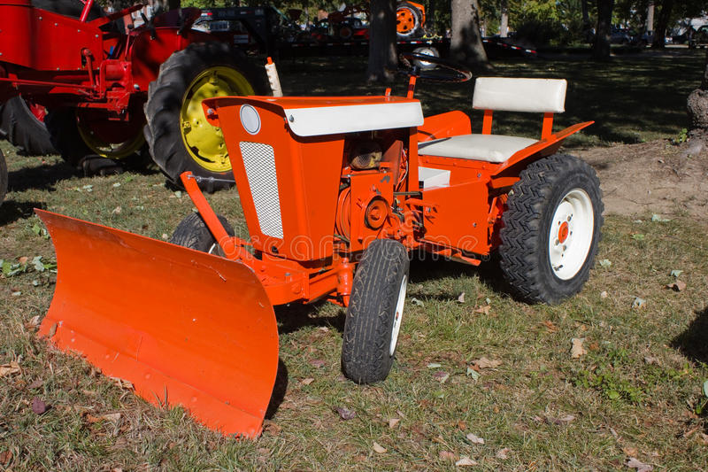 Download 1960s Lawn And Garden Tractor Stock Image - Image: 24120947