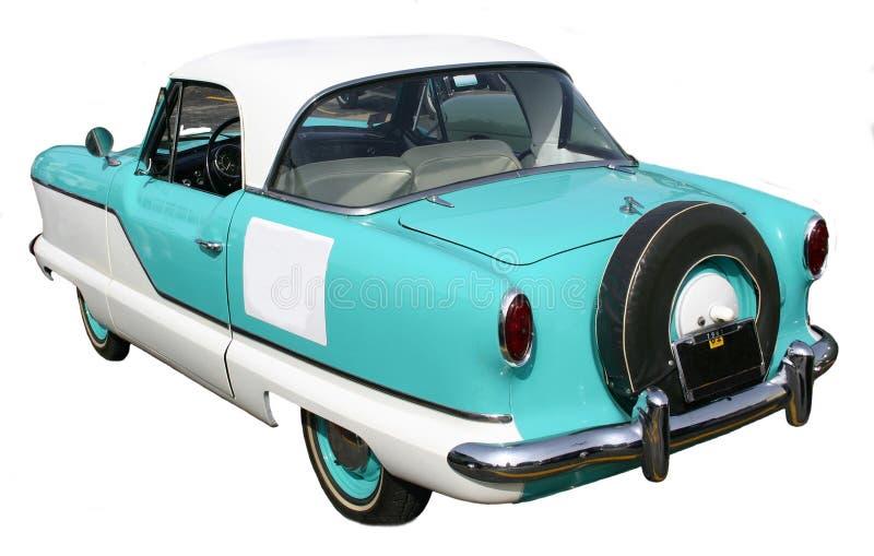 1961 Metropolitan Nash. Rear view of a 1961 Metropolitan Nash, blue and white stock photo