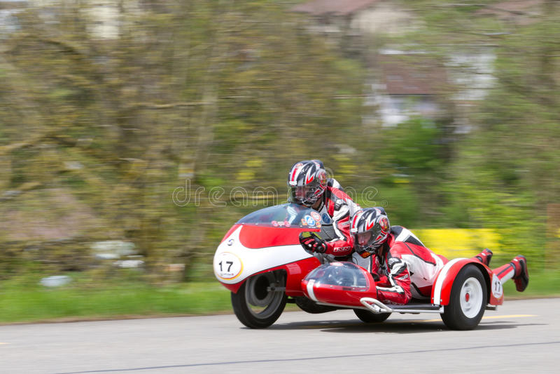 1962 bmw kneeler motocyklu sidecar rocznik zdjęcie royalty free