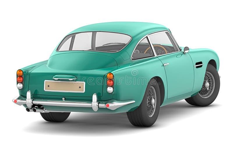 1964 korzystna Aston oknówka db5 ilustracja wektor