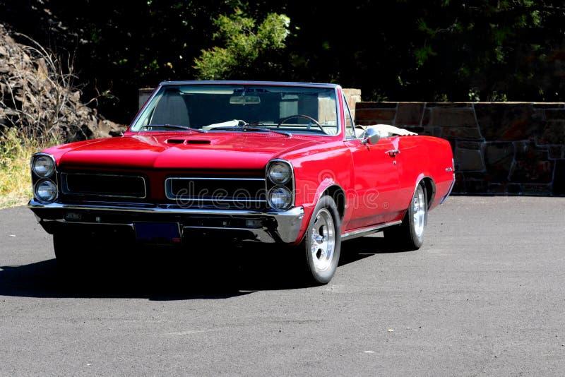 1965 klasycznych odwracalnych gto Pontiac zdjęcia royalty free
