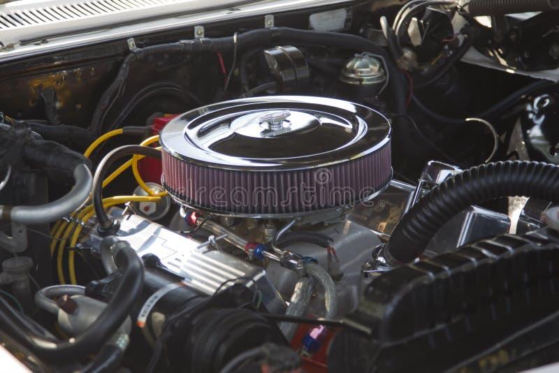 1966 Chevy Impala Engine Editorial Image