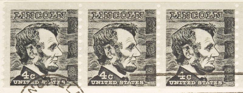 1966 Lincoln serii stemplowy rocznik fotografia stock