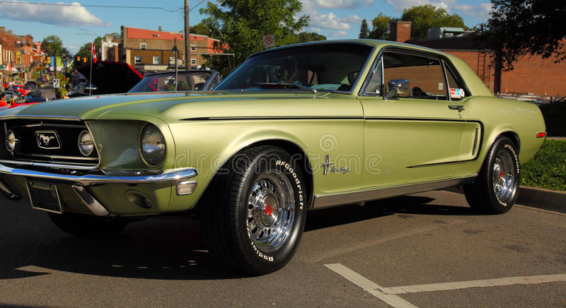 Download 1968 Mustang Gt Editorial Stock Image - Image: 28628629