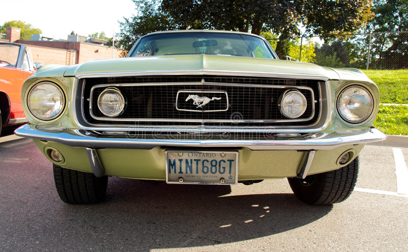 Download 1968 mustang gt editorial photography. Image of vehicle - 28628652