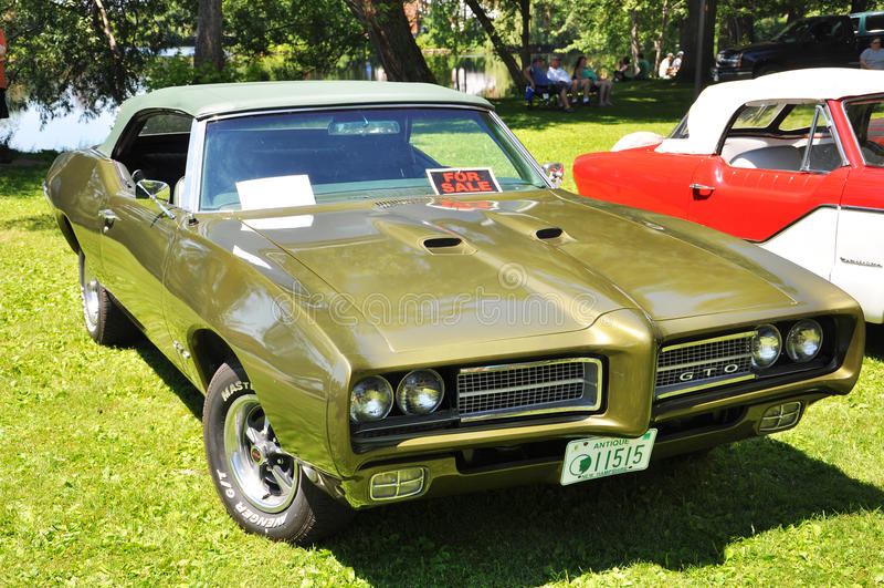 1969 Pontiac GTO royalty-vrije stock afbeelding
