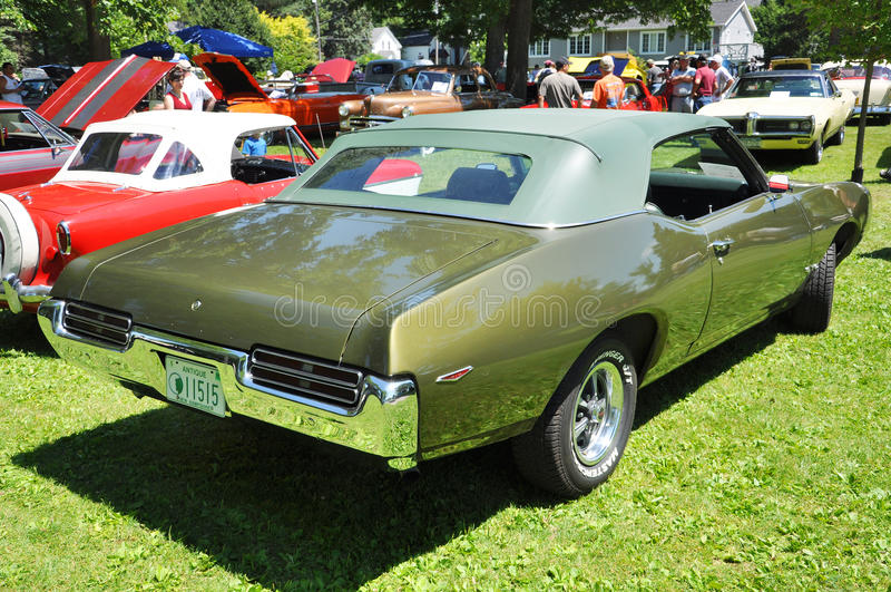 Download 1969 Pontiac GTO editorial stock image. Image of headlamp - 20494729