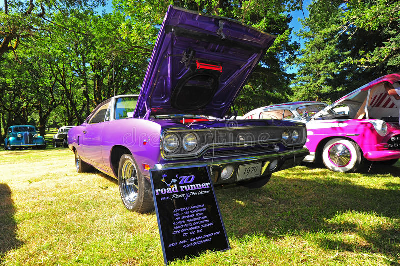 1970 Plymouth Road Runner royalty free stock images